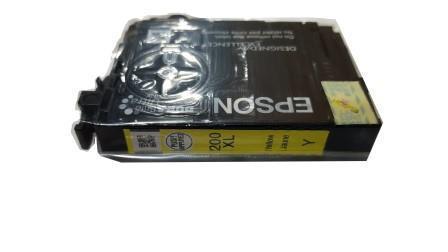 Image of Epson 200XL C13T201492 Genuine Yellow Ink Cartridge