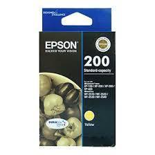 Image of Epson 200 C13T200492 Genuine Yellow Ink Cartridge