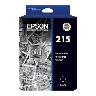 Image of Epson 215 C13T215192 Genuine Black Ink Cartridge