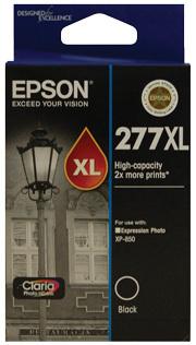 Image of Epson 277XL C13T278192 Genuine Black Ink Cartridge