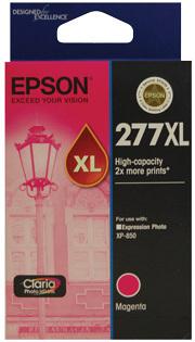 Image of Epson 277XL C13T278392 Genuine Magenta Ink Cartridge