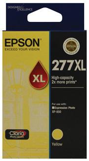 Image of Epson 277XL C13T278492 Genuine Yellow Ink Cartridge