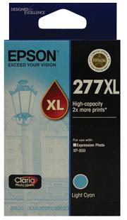 Image of Epson 277XL C13T278592 Genuine L Cyan Ink Cartridge