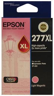 Image of Epson 277XL C13T278692 Genuine L Magenta Ink Cartridge