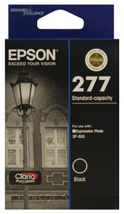 Image of Epson 277 C13T277192 Genuine Black Ink Cartridge