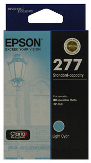 Image of Epson 277 C13T277592 Genuine L Cyan Ink Cartridge