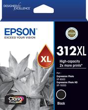Image of Epson 312XL C13T183192 Genuine Black Ink Cartridge