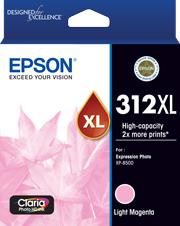 Image of Epson 312XL C13T183692 Genuine L Magenta Ink Cartridge