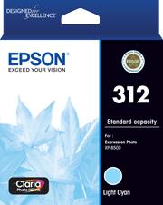 Image of Epson 312 C13T182592 Genuine L Cyan Ink Cartridge
