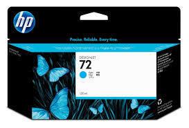 Image of HP 72 C9371A Genuine Cyan Ink Cartridge