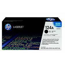 Image of HP 124A Q6000A Genuine Black Toner Cartridge