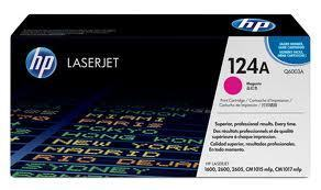 Image of HP 124A Q6003A Genuine Magenta Toner Cartridge