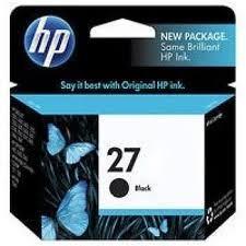 Image of HP 27 C8727A Genuine Black Ink Cartridge