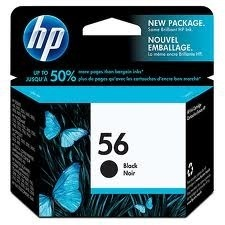 Image of HP 56 C6656A Genuine Black Ink Cartridge