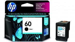 Image of HP 60 CC640WA Genuine Black Ink Cartridge