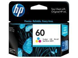 Image of HP 60 CC643WA Genuine Colour Ink Cartridge