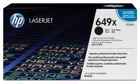 Image of HP 649X CE260X Genuine Extra High Yield Black Cartridge
