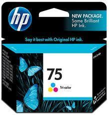 Image of HP 75 CB337WA Genuine Colour Ink Cartridge