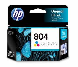 Image of HP 804 T6N09AA Genuine Colour Ink Cartridge