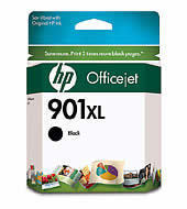 Image of HP 901XL CC654AA Genuine High Yield Black Ink Cartridge