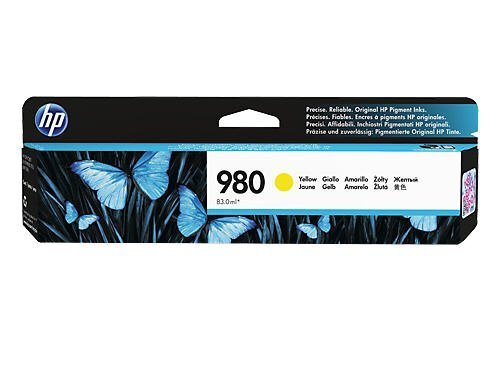 Image of HP 980 D8J09A Genuine Yellow Ink Cartridge
