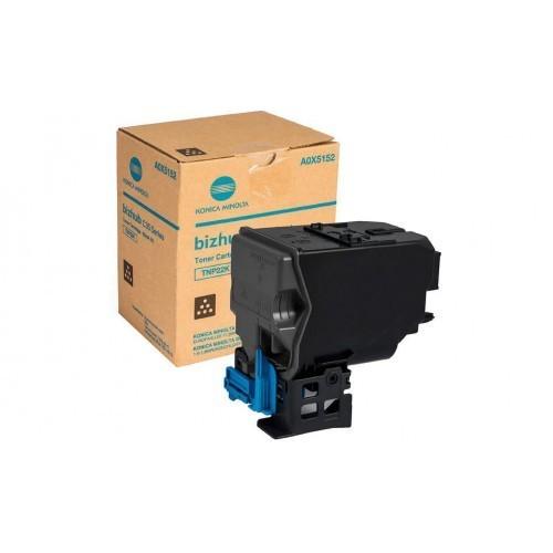 Image of Konica Minolta TNP22B Genuine Black Toner Cartridge