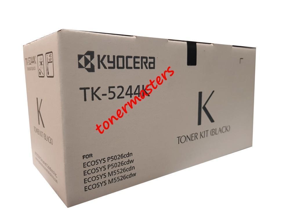 Image of Kyocera TK-5244K Genuine Black Toner Cartridges