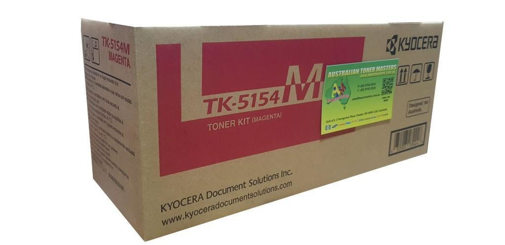 Image of Kyocera TK5154M Genuine Magenta Toner Cartridge