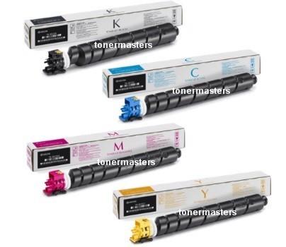 Image of Kyocera TK8339 Genuine BK, C, Y, M Toner Cartridges