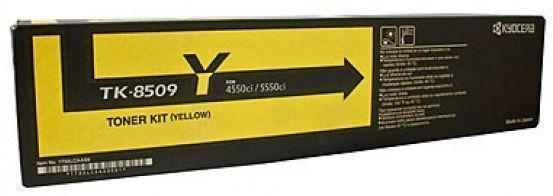 Image of Kyocera TK8509Y Genuine Yellow Toner Cartridge