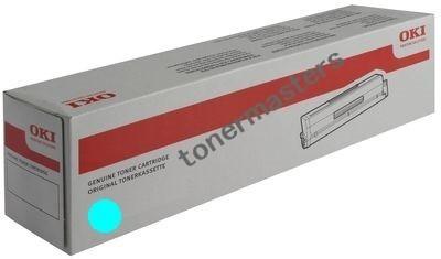 Image of Oki C941 45536519 Genuine Cyan Toner Cartridge
