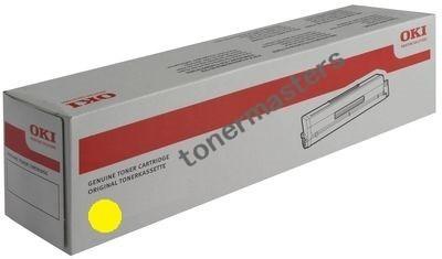 Image of Oki C612n 46507509 Genuine Yellow Toner Cartridge