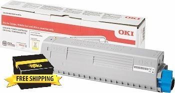 Image of Oki C834nw/C844dnw 46861309 Yellow Genuine Toner Cartridge