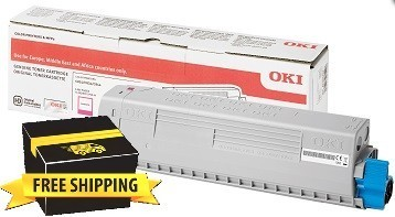 Image of Oki C834nw/C844dnw 46861310 Magenta Genuine Toner Cartridge