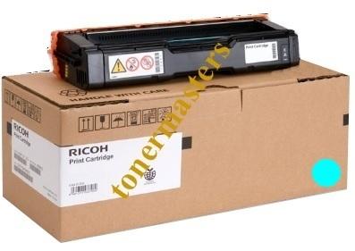 Image of Ricoh SP-C250SF 407548 Genuine Cyan Toner Cartridge