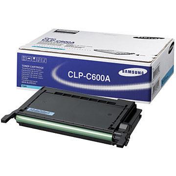 Image of Samsung CLP-C600A Genuine Cyan Toner Cartridge