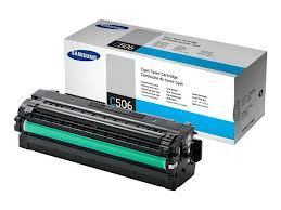 Image of Samsung CLT-C506L Genuine Cyan Toner Cartridge