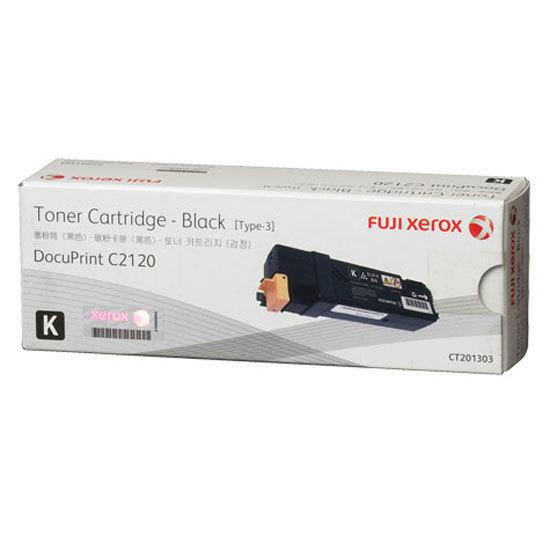 Image of Fuji Xerox CT201303 Black Genuine Toner Cartridge