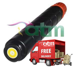 Image of Compatible Canon GPR-36 TG-52 Yellow Toner Cartridge