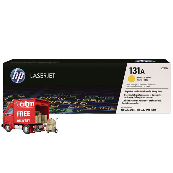 Image of HP 131A CF212A Genuine Yellow Toner