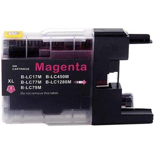 Image of Compatible Brother LC77XLM Magenta Ink Cartridge