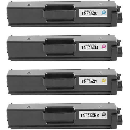 Image of Compatible Brother TN443 Toner Cartridges Combo X1